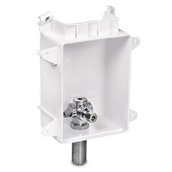 "Ox Box Ice Maker Outlet<Br>Box Rough-In Pack<br>No Lead (1/2"" Sweat) Product Image"