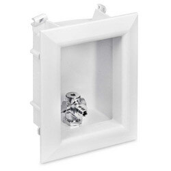 "Ox Box Ice Maker Outlet Box Standard Pack - 1/2"" PEX Crimp"