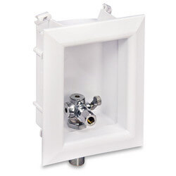 "Ox Box Toilet/Dishwasher Outlet Box Standard Pack - 1/2"" Female Sweat"