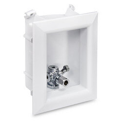 "Ox Box Toilet/Dishwasher Outlet Box Standard Pack - 1/2"" Male PEX Connection"