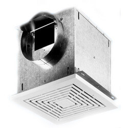 "CEV Series Ceiling<br>Exhaust Ventilator,<br>Round 6"" Duct (100 CFM) Product Image"