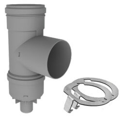 """6"""" PolyPro Tee with<br>Drain Cap w/ LB2 Product Image"""