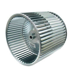 "11"" x 10"" Reversible Blower Wheel (3/4"" Bore) Product Image"
