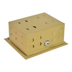 Metal Cover & Base Thermostat Guard<br>BTG-54VL Product Image