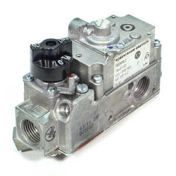 "3/8"" X 3/8"" Low Profile Combo Gas Valve<br>w/ Right Hand Outlet Product Image"