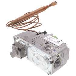 "1/2"" Snap Acting Low Profile Combo Gas Valve<br>w/ 36"" Capillary Product Image"