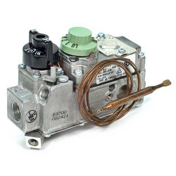 "3/8"" Snap Acting Low Profile Combo Gas Valve <br>w/ 36"" Capillary Product Image"