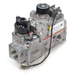 "1/2"" X 3/8"" mV Snap Acting Low Profile Combo Gas Valve, HI-LOW Regulator Product Image"