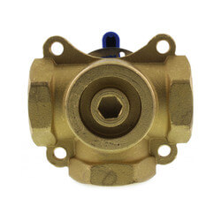 "1"" Brass 3-Way Mixing Valve"
