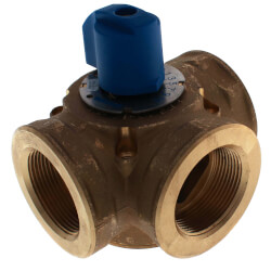 "1-1/2"" Brass 3-Way Mixing Valve"
