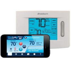 BlueLink Smart Wi-Fi Universal Thermostat<br>(3 Heat/2 Cool) Product Image