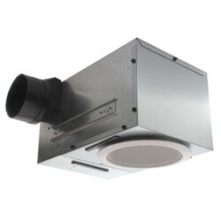 "744FL Recessed Fan<br>with Fluorescent Light<br>4"" Round Duct 70 CFM Product Image"