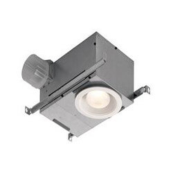 "Model 744LED Recessed Fan w/ LED Light, 4"" Round Duct (70 CFM) Product Image"