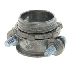 """3/4"""" Metallic Romex Connector for 3/4"""" Knockouts Product Image"""