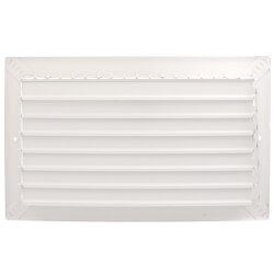 "14"" x 8"" White Commercial Supply Register (821 Series) Product Image"