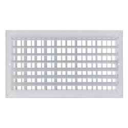"16"" x 8"" White Commercial Supply Register (821 Series)"
