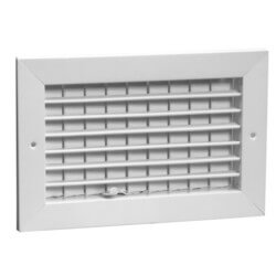 "12"" x 8"" White Commercial Supply Register (831 Series) Product Image"