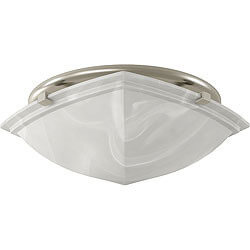 766BN Decorative Vent Fan w/ Light, Brushed Nickel Finish, 80 CFM Product Image