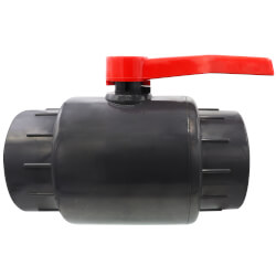 """6"""" 770N Economy PVC Ball Valve (Solvent Ends) Product Image"""