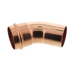 """2"""" ProPress x FTG Copper 45° Street Elbow Product Image"""