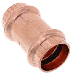 "3/4"" ProPress Copper Coupling w/ Stop"