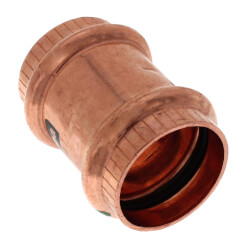 "1"" ProPress Copper Coupling w/ Stop Product Image"
