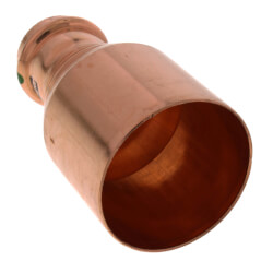 "2"" x 1"" Propress Copper Reducer FTG x C"