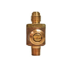 """1/4"""" SAE Male x 1/8""""<br>NPT Male (Lead Free) Product Image"""