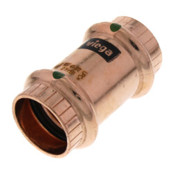 "3/4"" ProPress Copper Coupling - No Stop (Lead Free)"