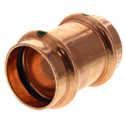 """1"""" ProPress Copper Coupling - No Stop (Lead Free) Product Image"""