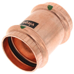 """1-1/4"""" ProPress Copper Coupling - No Stop (Lead Free) Product Image"""