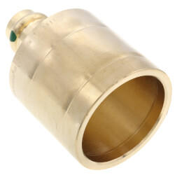 "2"" x 1/2"" Propress Copper Reducer FTG x Press Product Image"