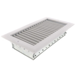 "12"" x 6"" White Sidewall/Ceiling Register (A618OB Series)"