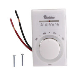 Line Voltage Thermostat, SPST (Heating)