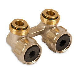 Straight Isolation Valve (2 fittings per set)