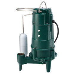 D803 Residential Auto. Grinder Pump (230V, 1/2 HP, 3.0 Amps) Product Image