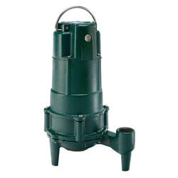 BE803 Residential Manual Grinder Pump (230V, 1/2 HP, 3.0 Amps) Product Image