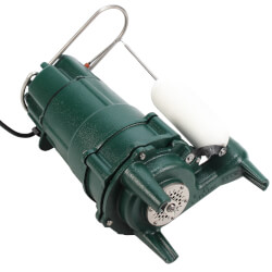 M805 Residential Auto. Grinder Pump (115V, 3/4 HP, 9.0 Amps) Product Image