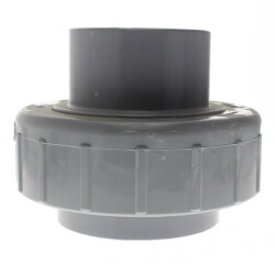 "1/2"" CPVC Sch. 80 Union 2000 w/ EPDM O-Ring Seal (Socket x Spigot) Product Image"