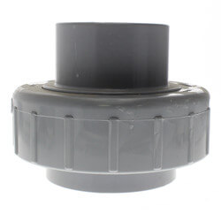 "3"" CPVC Sch. 80 Union 2000 w/ EPDM O-Ring Seal (Socket x Spigot) Product Image"