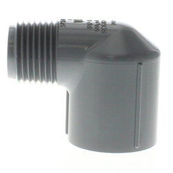 """1/2"""" MPT x 1/2"""" FPT<br>CPVC Schedule 80 90° Street Elbow Product Image"""