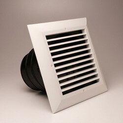 "MVE Ceiling Diffuser<br>w/ 1-Way Return/Grille<br>(8"" x 8"") Product Image"