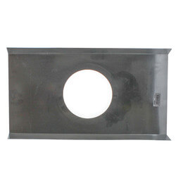 "DCF Drop Ceiling Flange w/ 9-1/4"" Hole (8"" x 8"") Product Image"