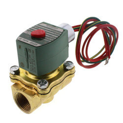 "3/4"" Normally Closed Solenoid Valve, 5 CV (24v) Product Image"