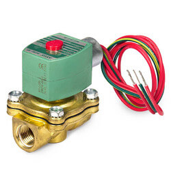 "1/2"" Normally Closed Solenoid Valve, 2.2 CV (240v) Product Image"