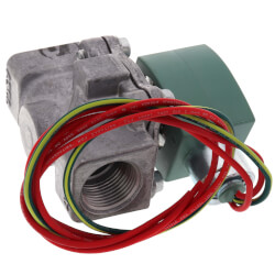 "1/8"" Normally Closed Gas Valve, Air-Fuel (24 V) Product Image"