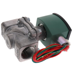 "2"" Aluminum Solenoid Air Valve, 3,251,000 BtuH<br>Max (120v) Product Image"