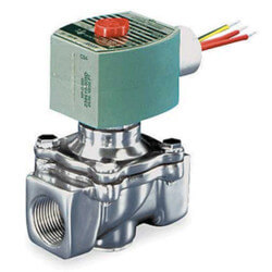 "3/8"" Normally Closed Gas Shutoff Valve, 1.2 CV, 24v (64,400 BTU)"