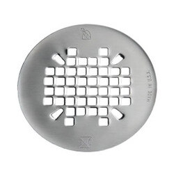 "4-1/4"" Replacement Drain Strainer w/ Screws, 19 GA (Satin Finish) Product Image"