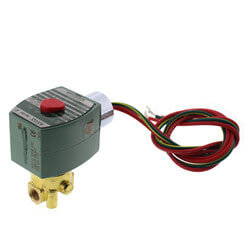 "1/8"" Normally Closed Solenoid Valve (208v) Product Image"
